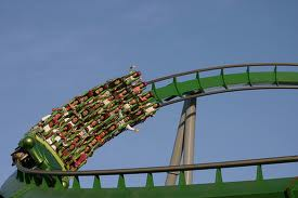 The Incredible Hulk Coaster at Universal Studios Orlando