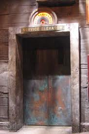 The Service Elevator at The Tower of Terror
