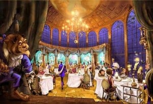 An impresssion of Be Our Guest Restaurant