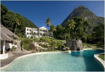 Luxury villa St Lucia