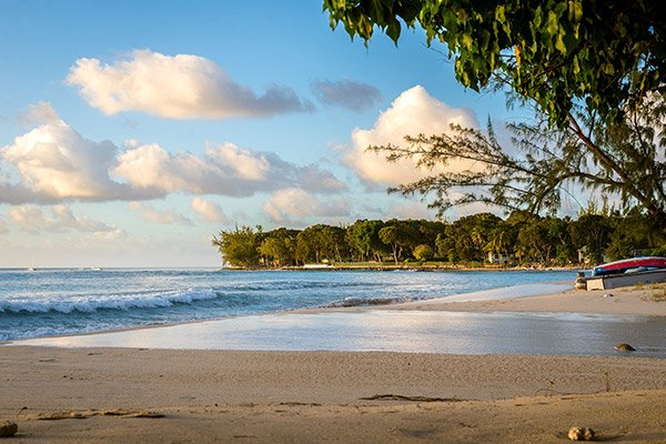 Holetown beach in Barbados