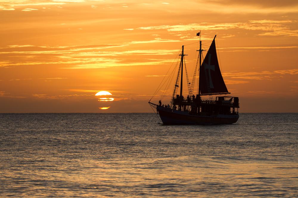Boat in Barbados