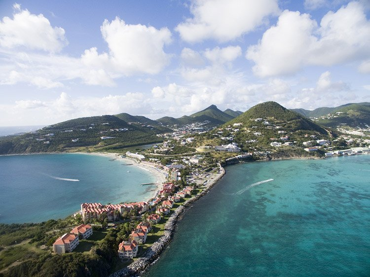Hiking to the island's highest point is a fun activity on St. Martin