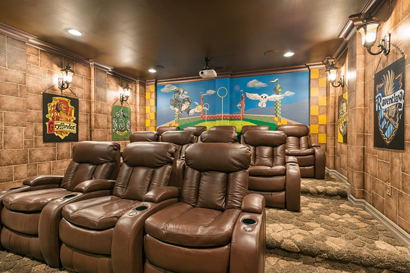 Orlando Vacation Homes With Movie Theaters Top Villas