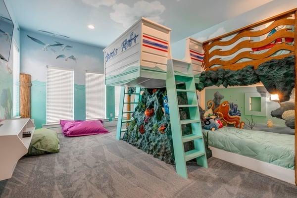 Finding nemo themed bedroom