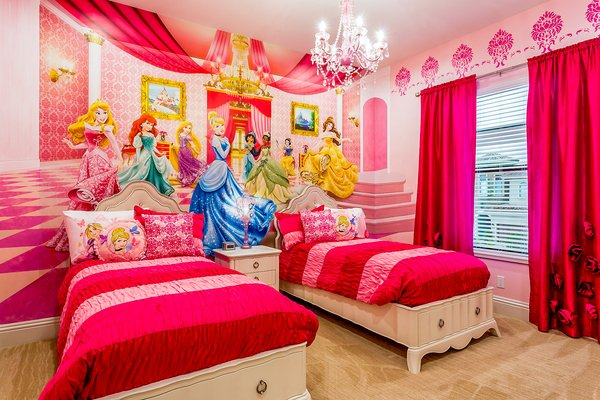 Orlando Vacation Homes With Beautiful Themed Rooms Top