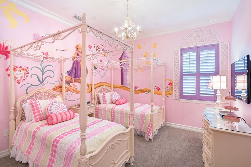 Tangled themed bedroom