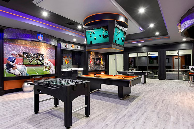 orlando vacation homes with best games room