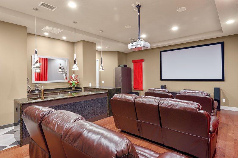 Formosa Gardens 45's home cinema