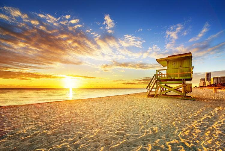 85th Street Beach in Miami