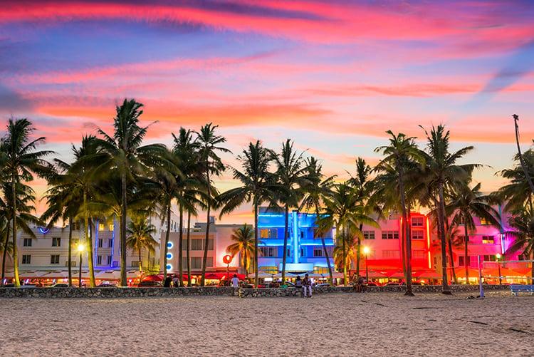 Lummus Park Beach In Miami