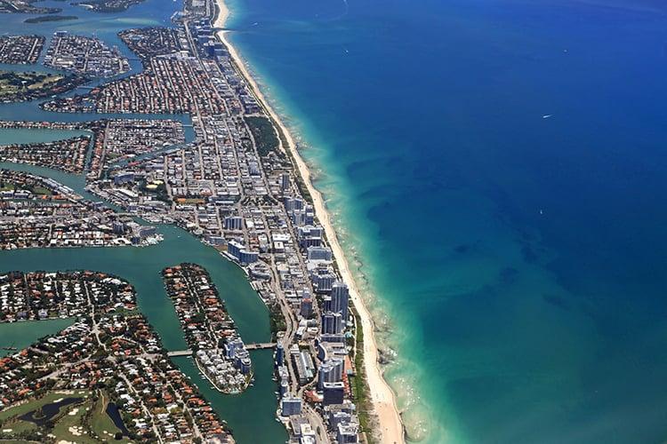 North Shore Park Beach in Miami