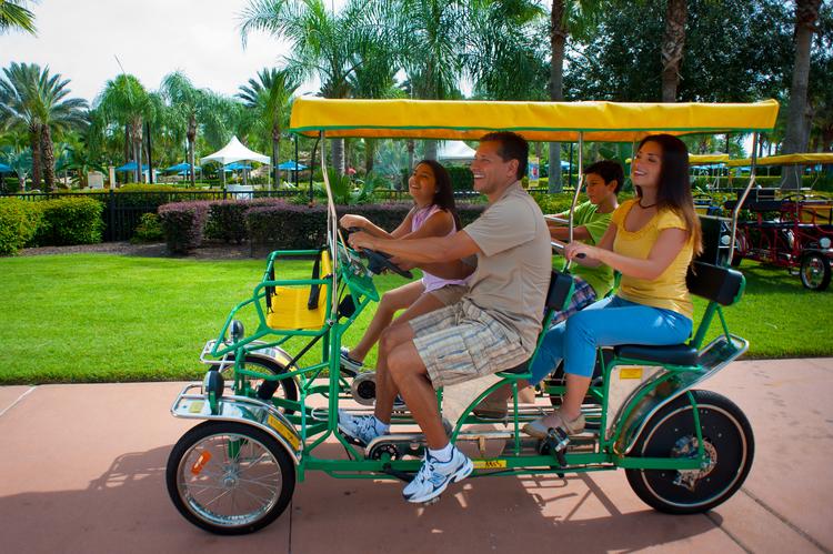 Reunion Resort bike rental