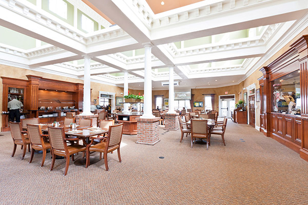 Golfers Love The Clubhouse Grille At Reunion