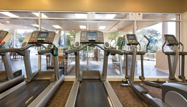 The gym at Reunion Resort in Florida