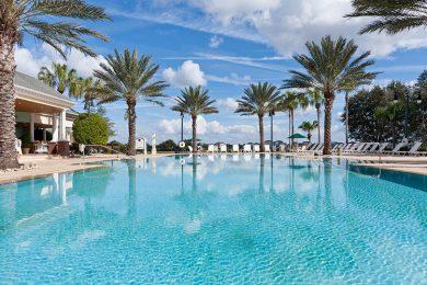 Reunion Resort swimming pools