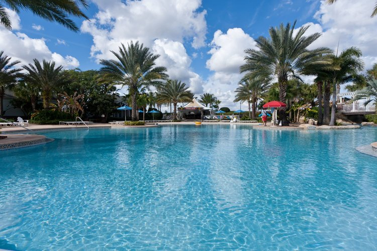 The main pool at Reunion Resort water park