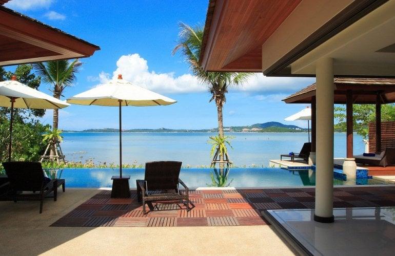 Seafront villa in Koh Samui, Thailand
