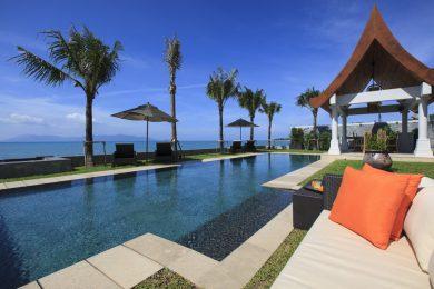 Beachfront villas in Koh Samui