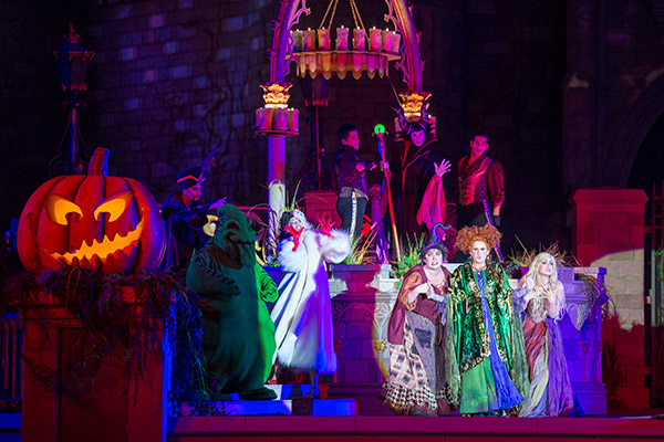 Halloween is one of the busiest times to visit Disney World