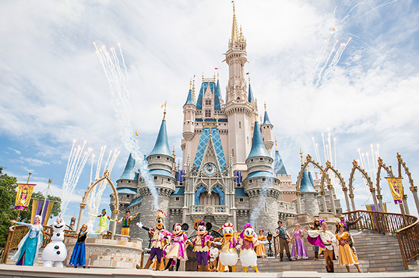 Best times to visit Disney World