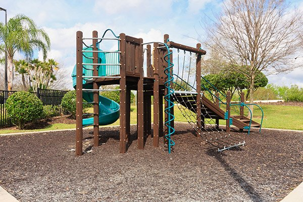 One of the playgrounds at Reunion Resort