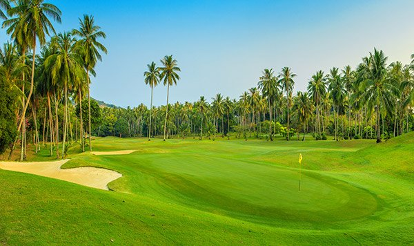 Koh Samui has a spectacular 18-hole golf course