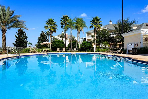 Pools at Reunion Resort in Florida