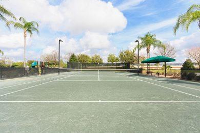 Reunion Resort tennis courts
