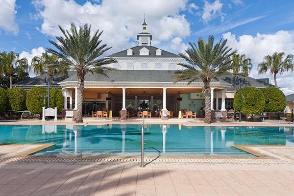 Seven Eagles pool at Reunion Resort
