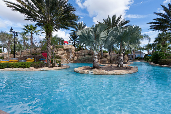 Pictures of the water park at Reunion Resort