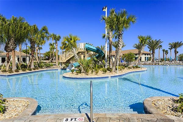 The Championsgate pool in Orlando