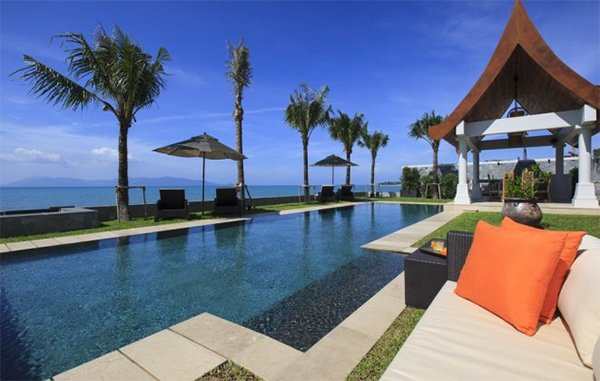 There are some great villas and vacation homes on the north coast of Koh Samui, Thailand