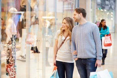It's free to go window shopping in Orlando