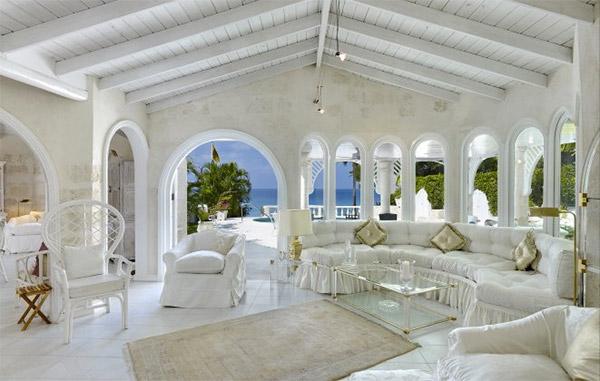 A villa near the beach in Barbados