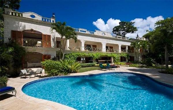 Barbados has some incredible beachfront villas