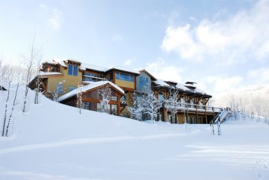 Skiing luxury vacation rentals in January