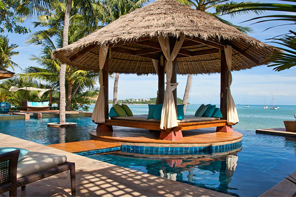 Luxury villas ideal for large group vacations