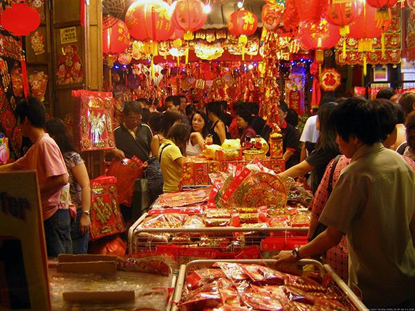 Koh Samui Chinese New Year markets
