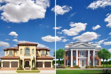 Side by side luxury villa rentals in Orlando