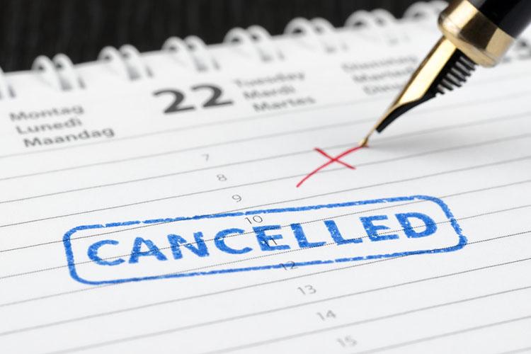 What happens if I cancel?
