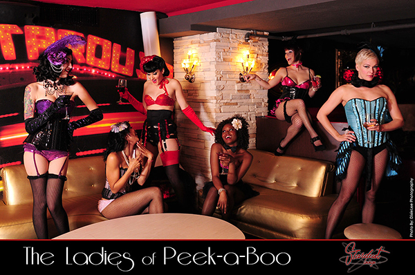 The Peek a Boo Ladies image courtesy of Dixie Lee Photography