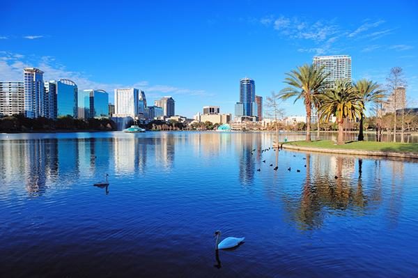 Orlando lake