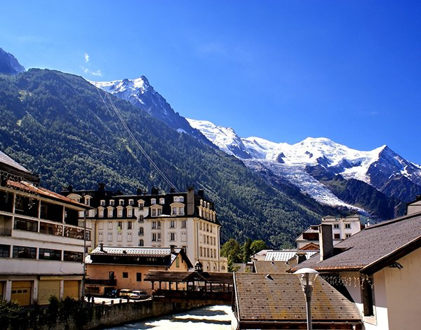 A vacation in February to Chamonix