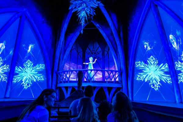 The Frozen Ever After ride at Disney in Orlando