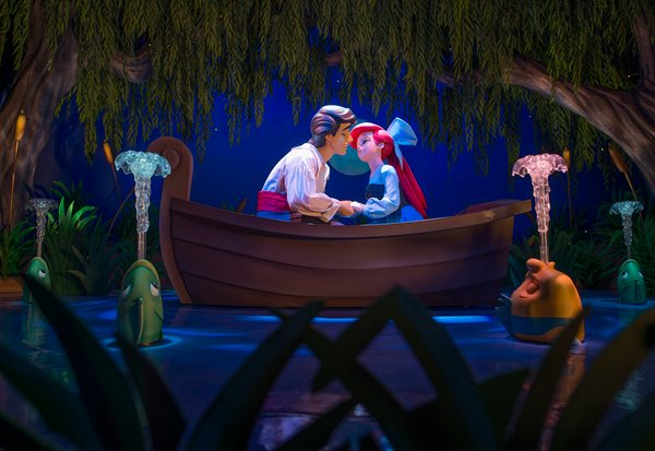 Under the Sea ~ Journey of the Little Mermaid Disney World