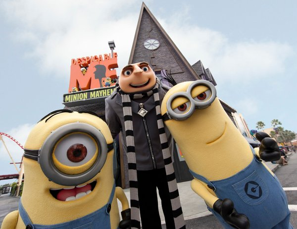 Despicable Me: Minion Mayhem Universal Orlando
