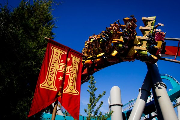 The Dragon Challenge is a Harry Potter-themed ride at Universal Studios in Orlando
