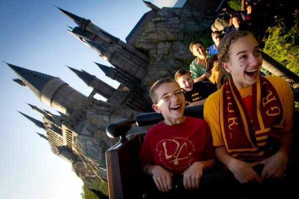 Flight of the Hippogriff at Universal Studios in Orlando