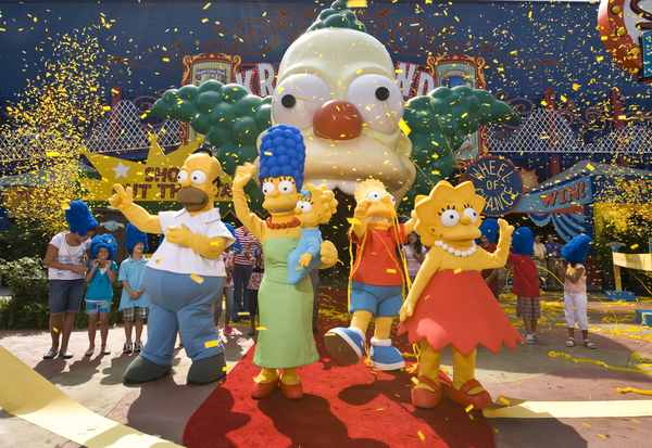 The Simpsons Ride universal orlando